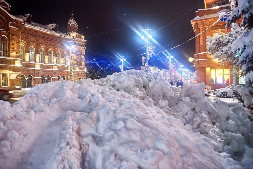 Снежный-вечерний... ( Владимир, февраль 2018 ) 06