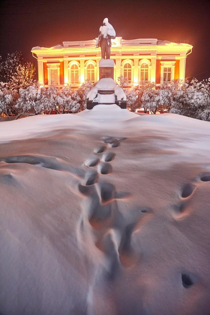 Снежный-вечерний... ( Владимир, февраль 2018 ) 07