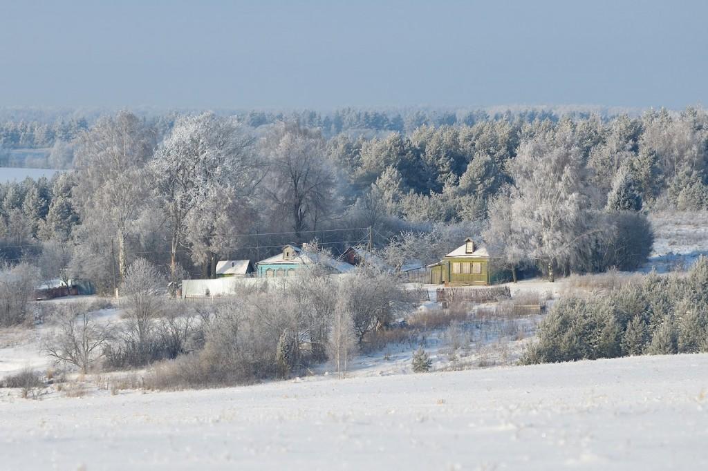 Собинский район зимой 01