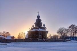 Суздаль — накануне Масленицы — II ( февраль 2018 )