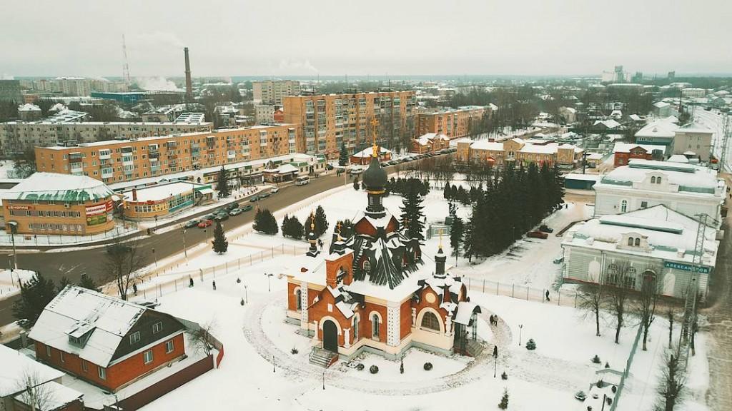 Храм Серафима Саровского в Александрове