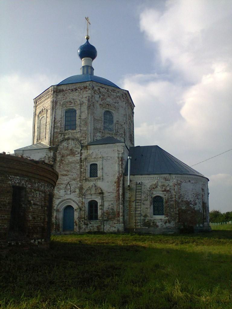 Церковь Казанской иконы Божией Матери и Илии Пророка, с. Янево 01