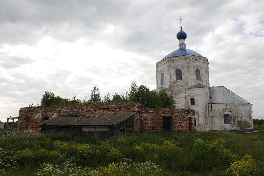 Церковь Казанской иконы Божией Матери и Илии Пророка, с. Янево 04