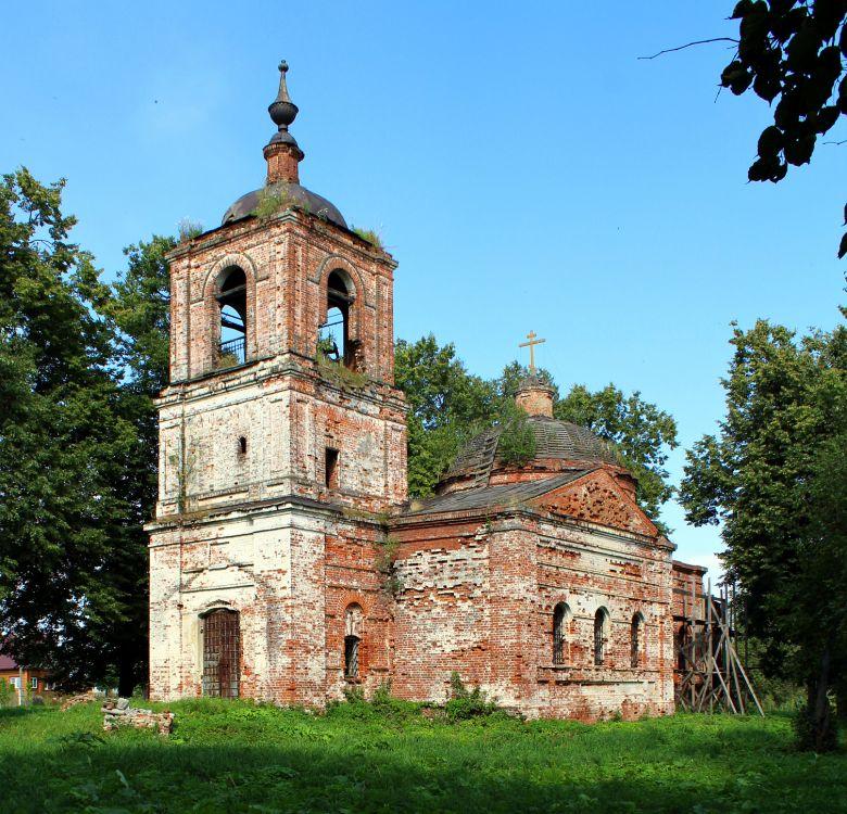 Церковь Покрова Пресвятой Богородицы (1850), с. Алепино 04