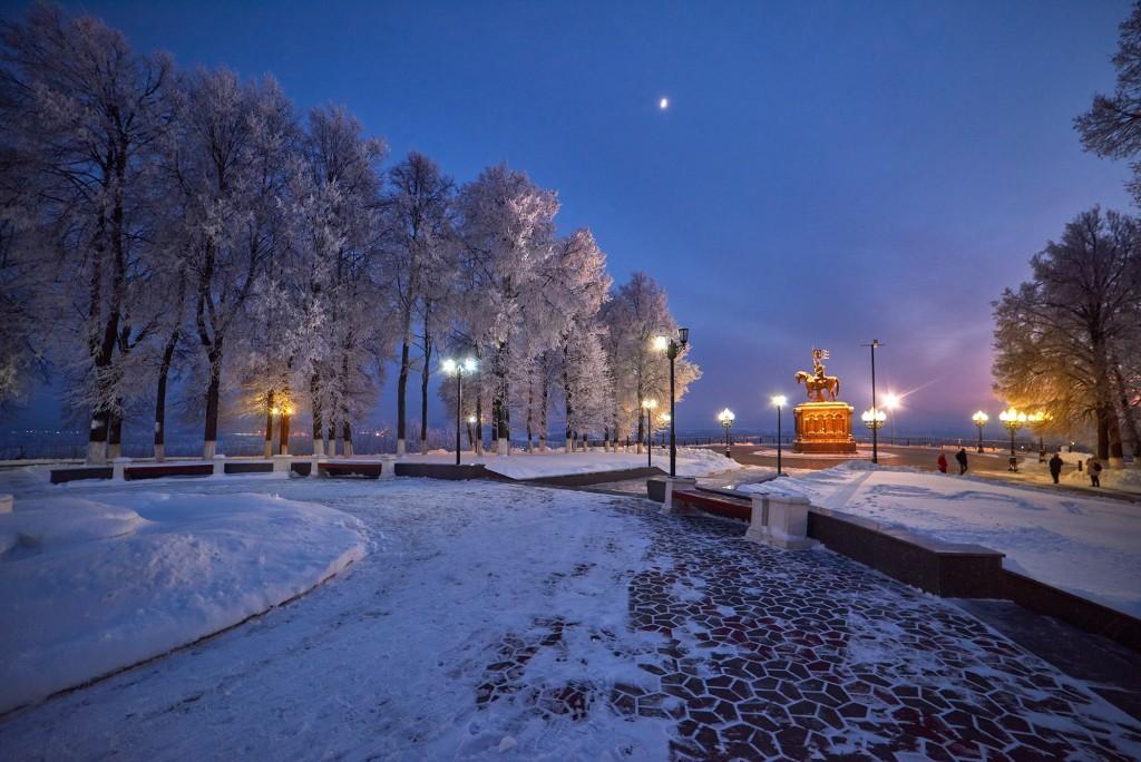 Январские морозные вечера 2018 ( во Владимире ) 01