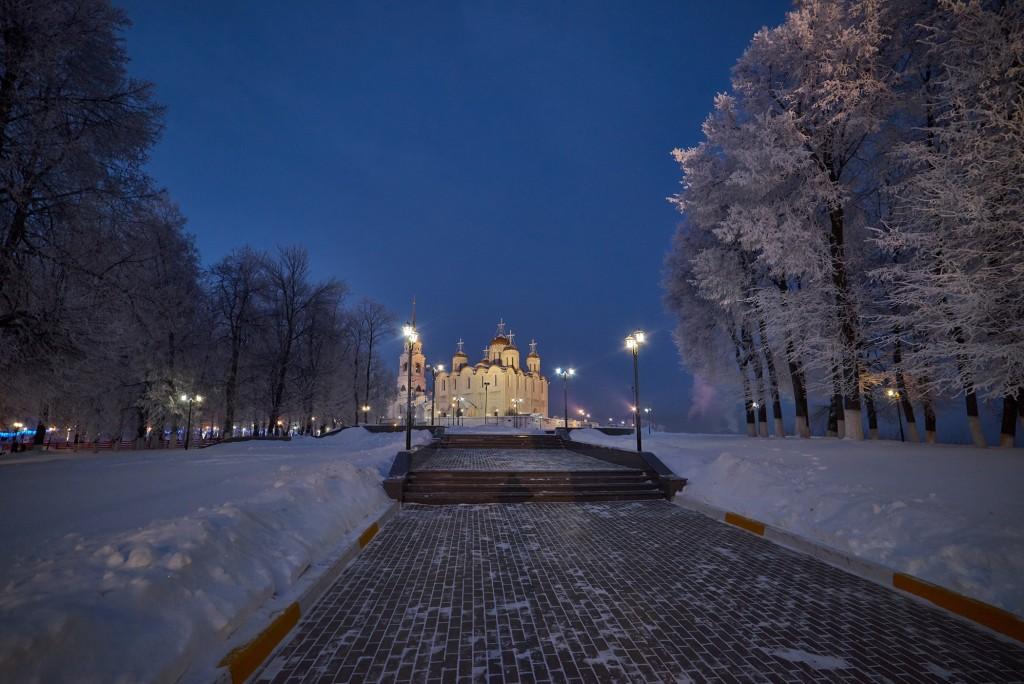 Январские морозные вечера 2018 ( во Владимире ) 04