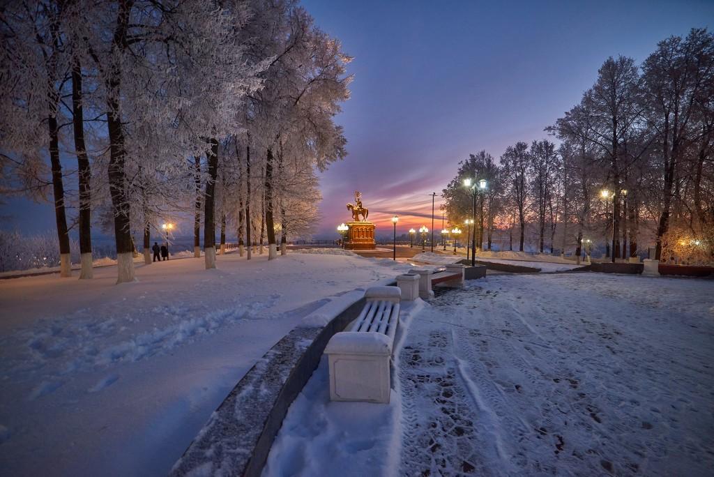 Январские морозные вечера 2018 ( во Владимире ) 06