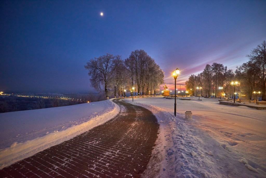 Январские морозные вечера 2018 ( во Владимире ) 10