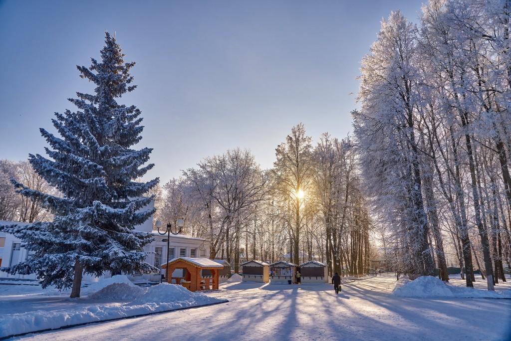 Ясный зимний день ( Владимир, 2018) 02