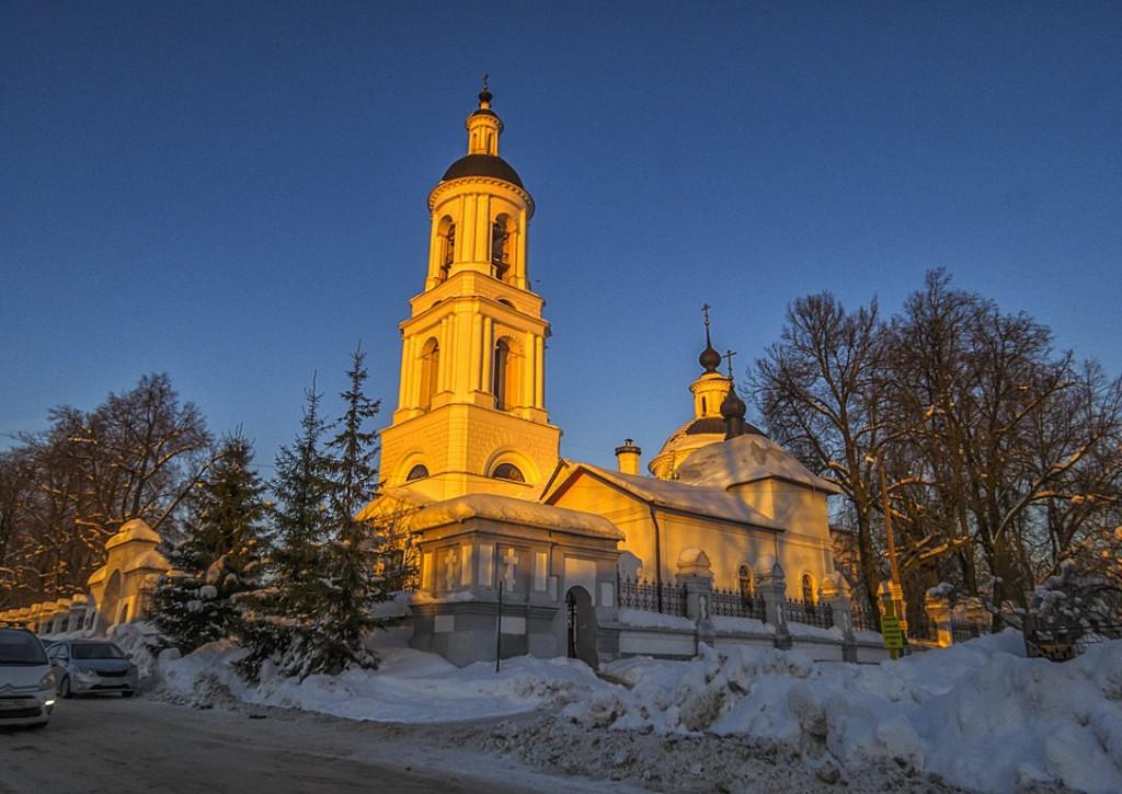 Вечер в Филлиповском, Киржачский район 01