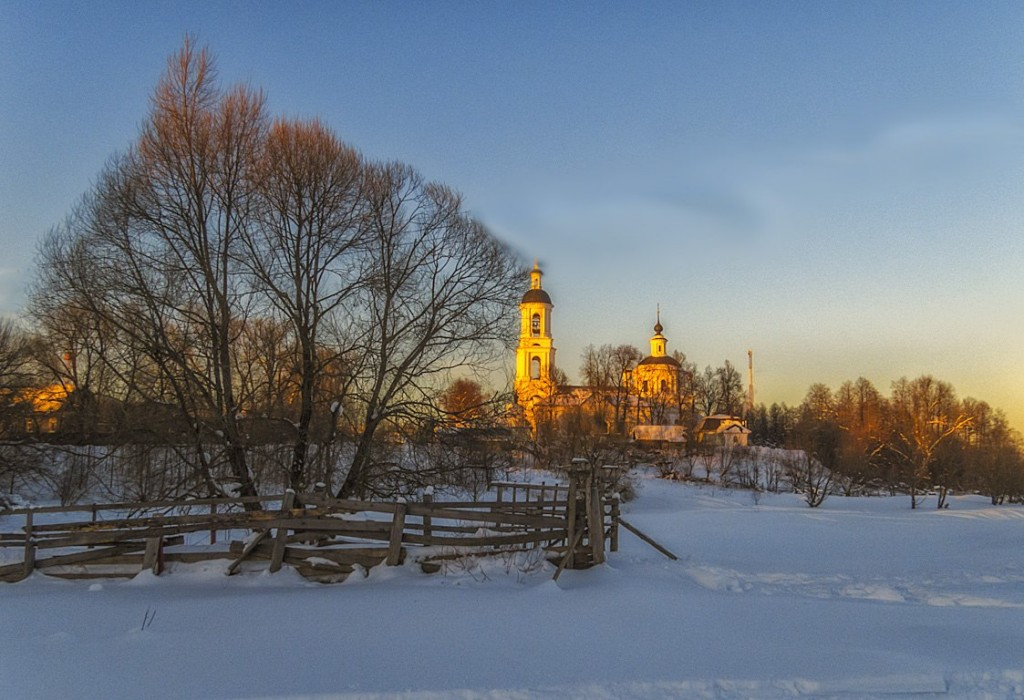 Вечер в Филлиповском, Киржачский район 03