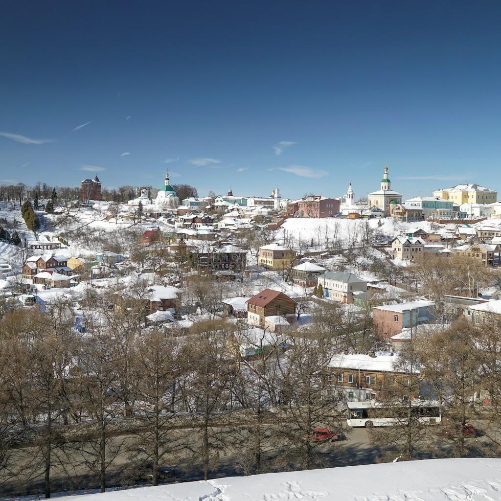 Город Владимир, начало марта 2018 01