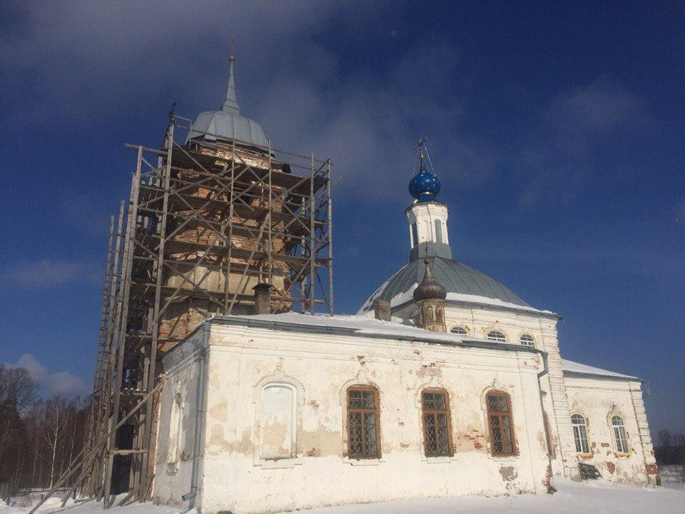 Деревня Крюково, Золотково, Гусь-Хрустальный район 01