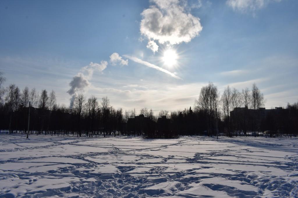 Март в парке Добросельский. Город Владимир. 05