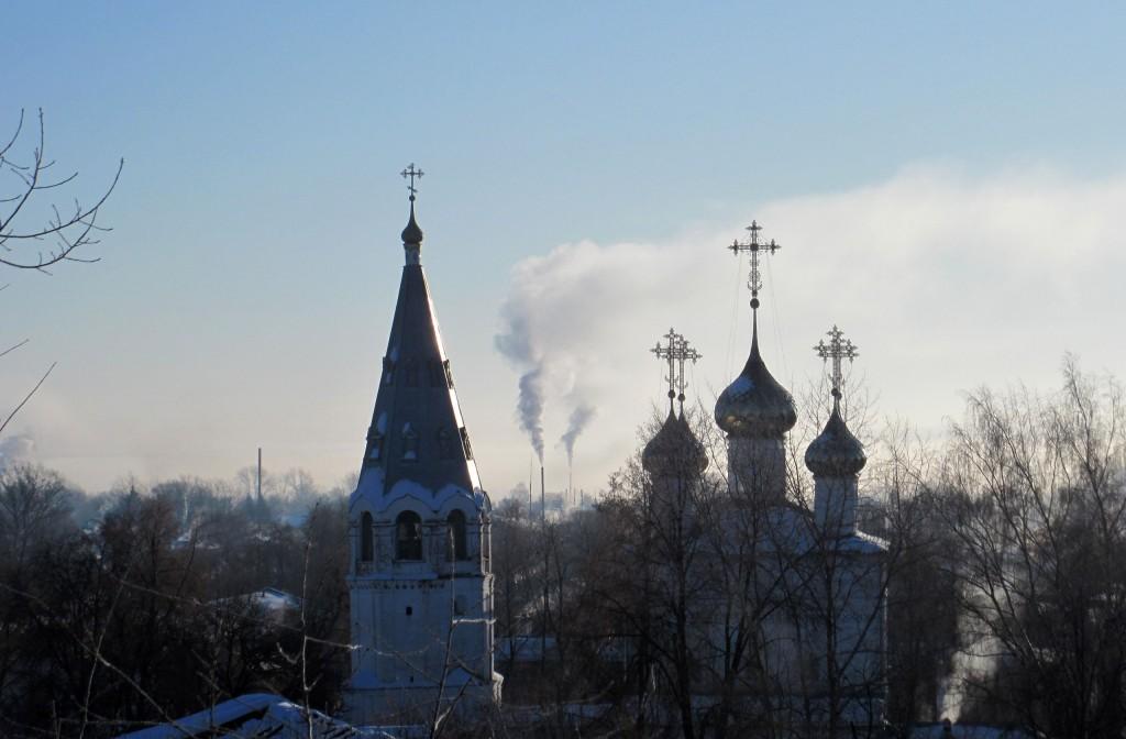 Морозное утро в Вязниках 1 марта 01