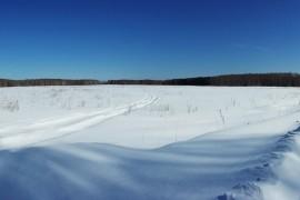 Морозное утро в Гусь-Хрустальном районе