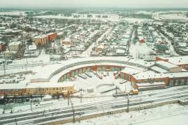 Александров: Типичный образец так называемой «железнодорожной архитектуры»