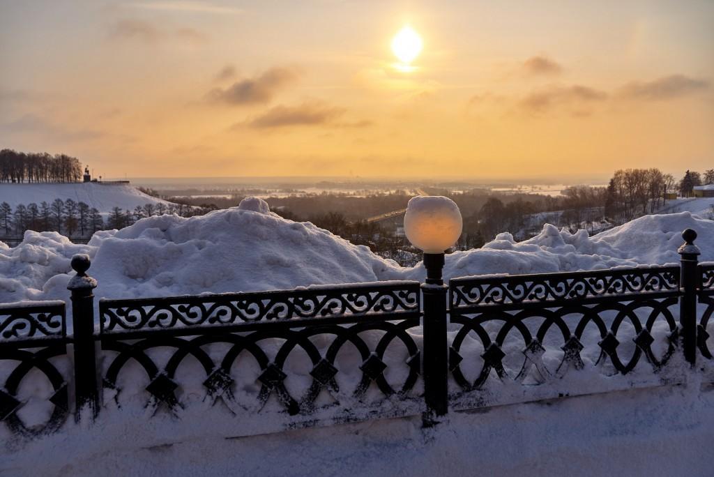 Февральское морозное утро ( Владимир 2018 ) 01
