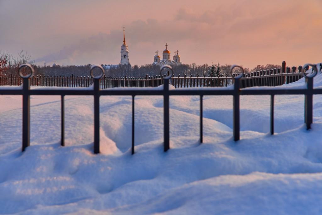 Февральское морозное утро ( Владимир 2018 ) 02