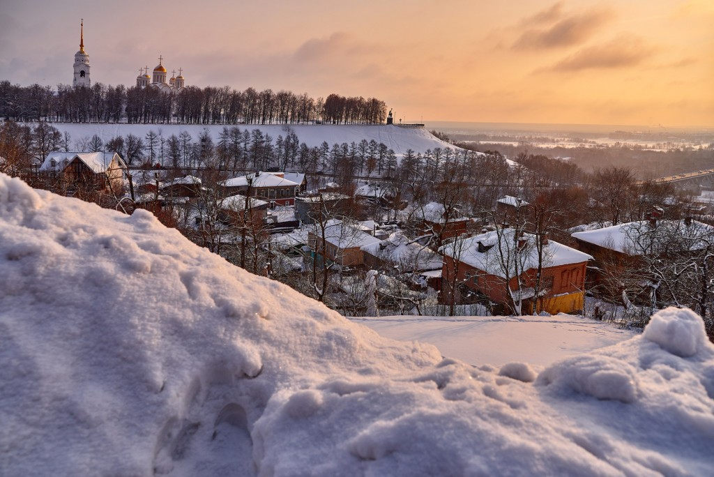 Февральское морозное утро ( Владимир 2018 ) 05