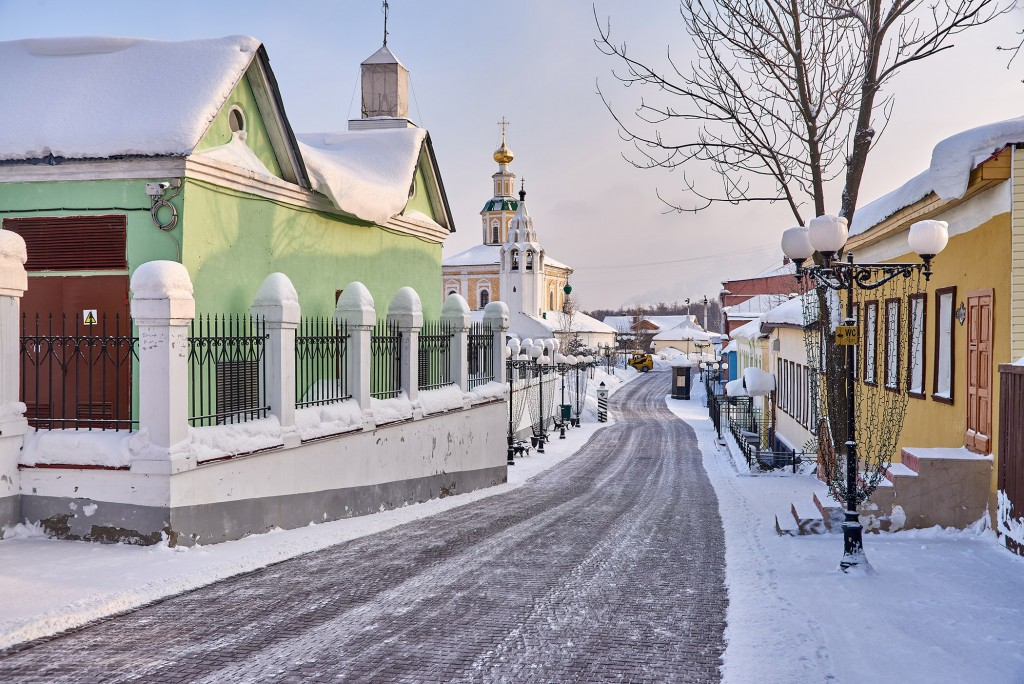 Февральское морозное утро ( Владимир 2018 ) 07