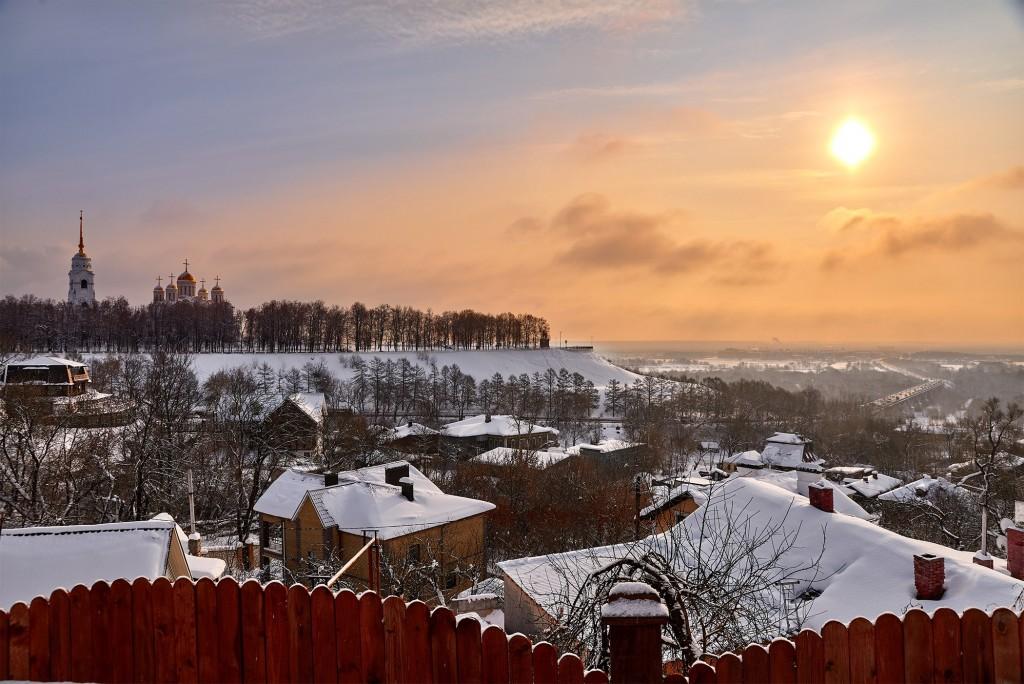 Февральское морозное утро ( Владимир 2018 ) 08
