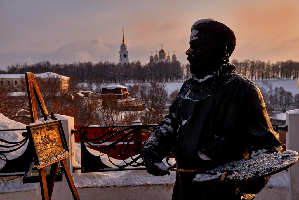 Февральское морозное утро ( Владимир 2018 ) 10