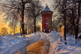 Февральское морозное утро — продолжение ( Владимир 2018 )