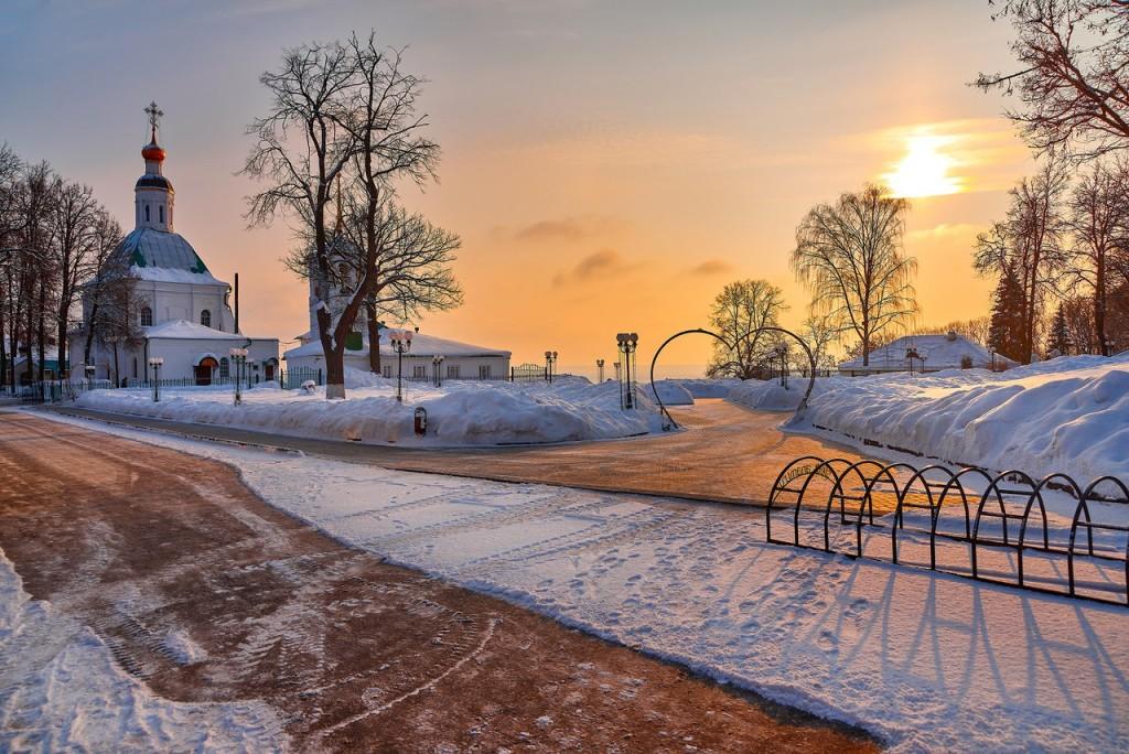 Февральское морозное утро - продолжение ( Владимир 2018 ) 02