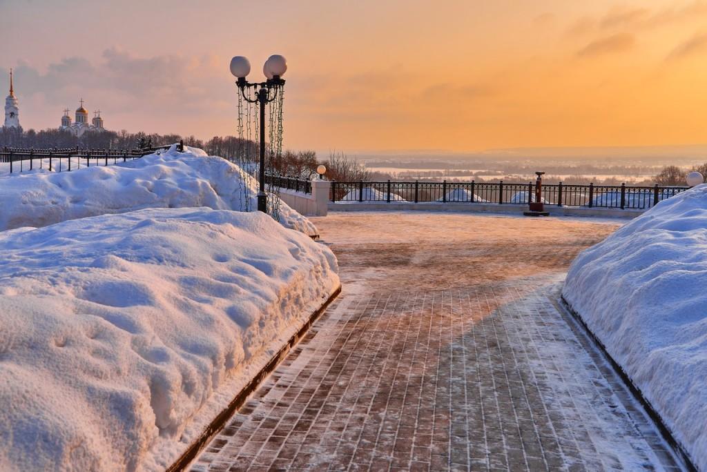 Февральское морозное утро - продолжение ( Владимир 2018 ) 03