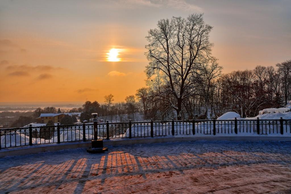 Февральское морозное утро - продолжение ( Владимир 2018 ) 05