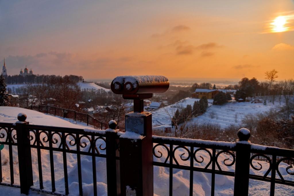 Февральское морозное утро - продолжение ( Владимир 2018 ) 06