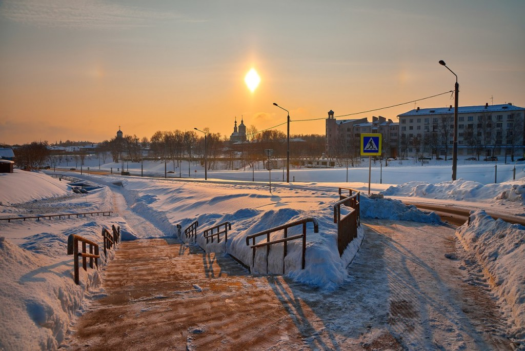 Февральское морозное утро - продолжение ( Владимир 2018 ) 07
