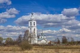 Церковь Михаила Архангела (1683), с. Бабаево, Собинский район, Владимирская область