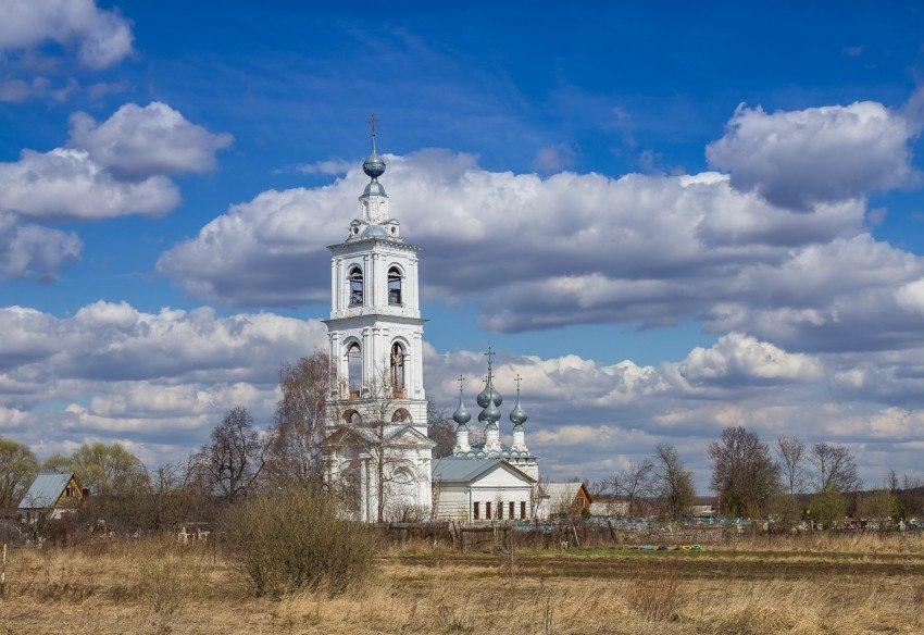 Церковь Михаила Архангела (1683), с. Бабаево, Собинский район, Владимирская область 01