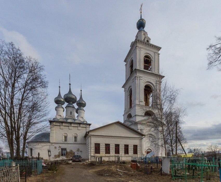 Церковь Михаила Архангела (1683), с. Бабаево, Собинский район, Владимирская область 02