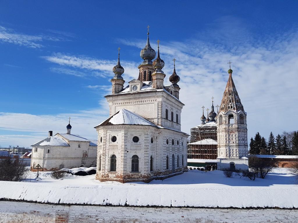 Юрьев-Польский. Март. Виды центра с высоты валов 07