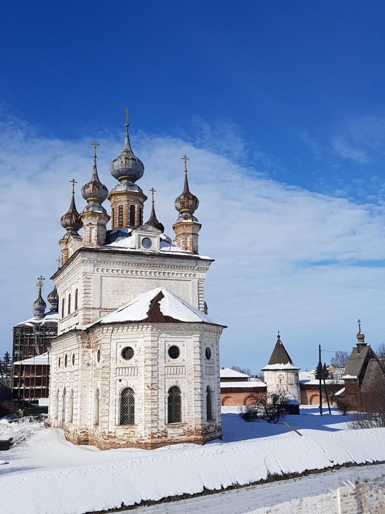 Юрьев-Польский. Март. Виды центра с высоты валов 08