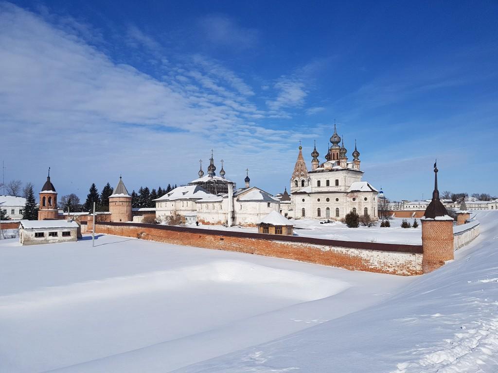 Юрьев-Польский. Март. Виды центра с высоты валов 10