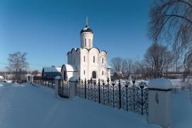 деревня Товарково, церковь Сергия Радонежского, Кольчугинский р-н