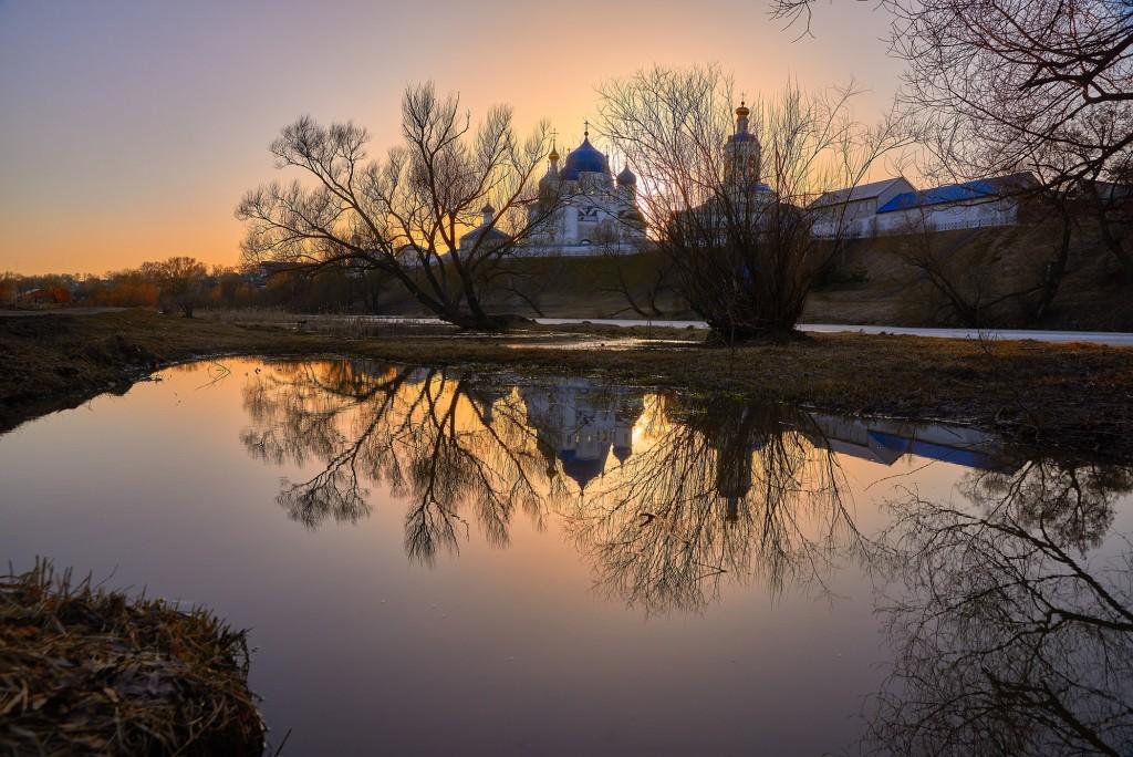 Апрельский закат в Боголюбово 05