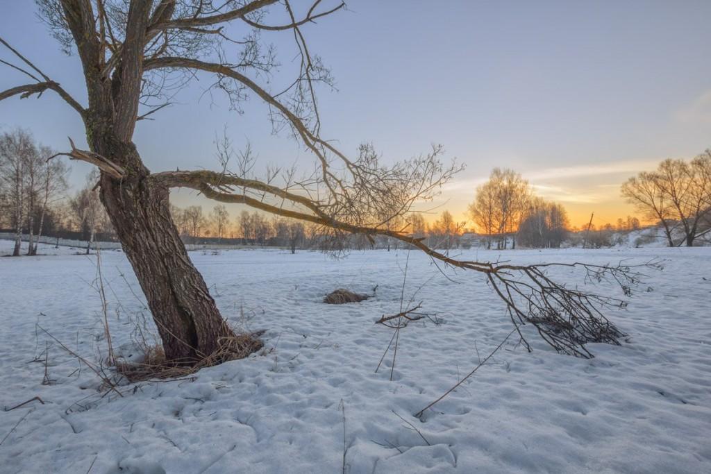 Апрельское утро на реке Серой 02