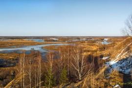Апрель. Озеро «Подгорное». (Вязниковский р-он).