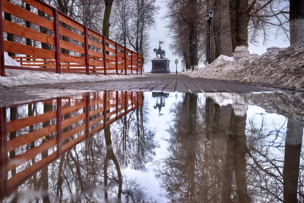 Весенние зеркала ( апрель 2018, г. Владимир ) 03