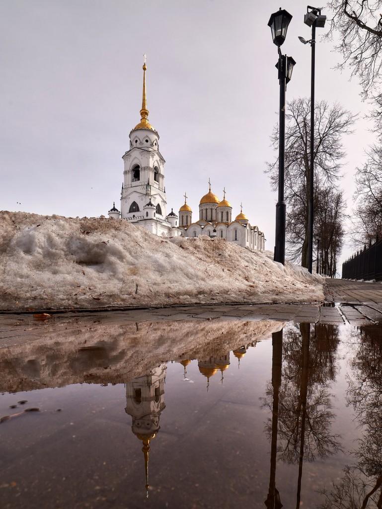 Весенние зеркала ( апрель 2018, г. Владимир ) 04
