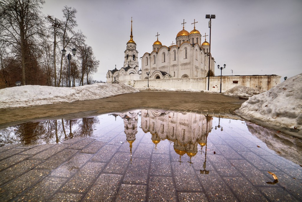 Весенние зеркала ( апрель 2018, г. Владимир ) 06