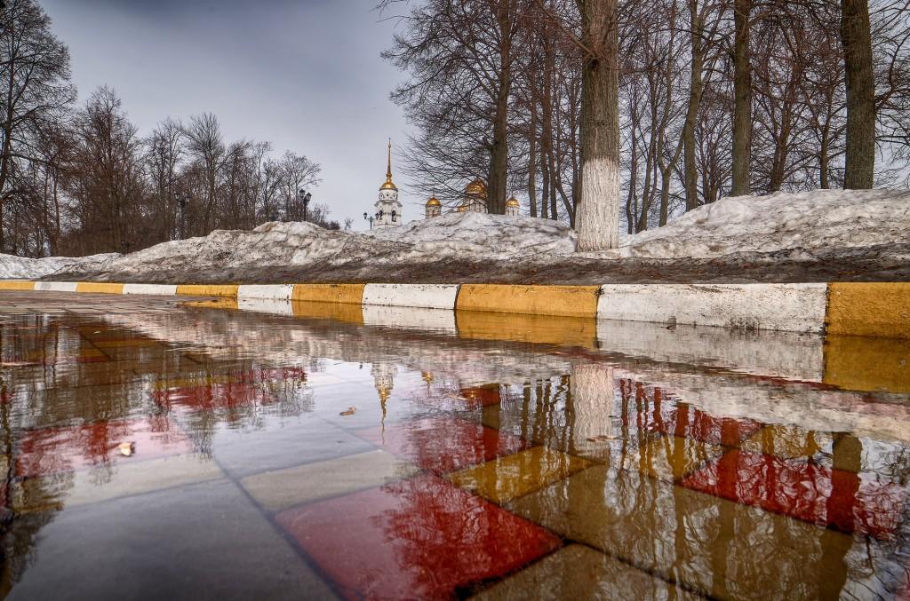 Весенние зеркала ( апрель 2018, г. Владимир ) 08