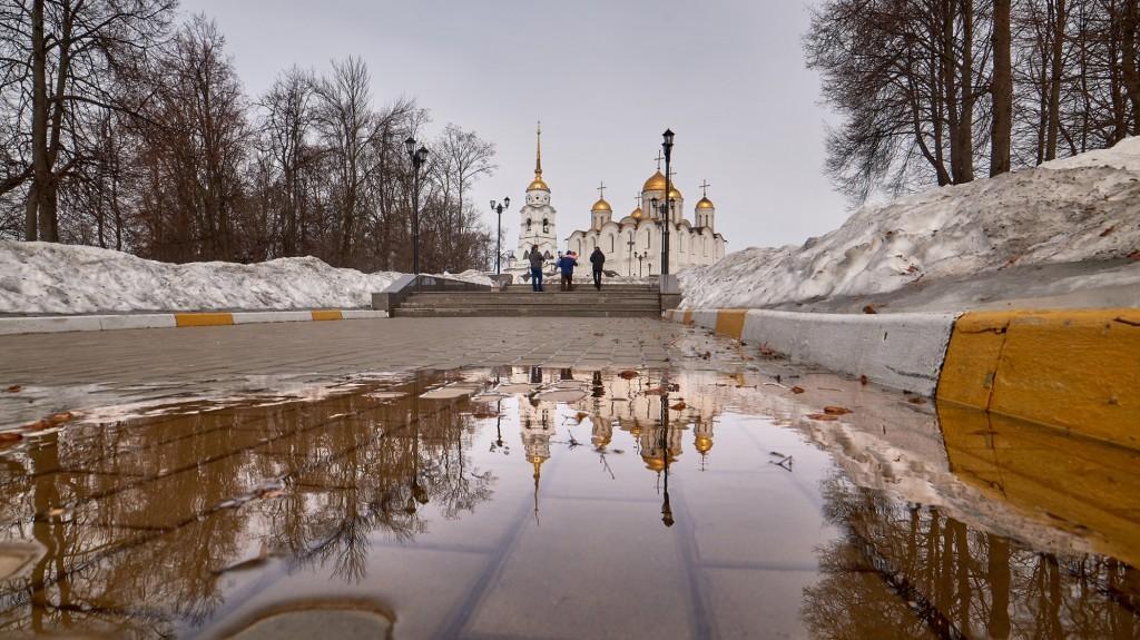 Весенние зеркала ( апрель 2018, г. Владимир ) 09