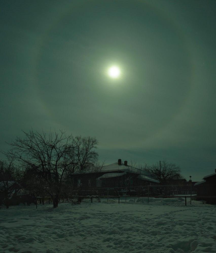 Зима в Вязниковском районе (2018) 07