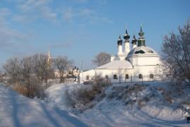 Морозный март в Суздале